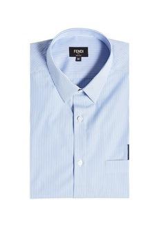 Fendi Embroidered Cotton Shirt