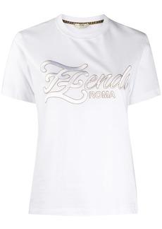 Fendi embroidered FF Karligraphy T-shirt