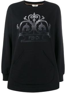 Fendi embroidered FF logo sweater