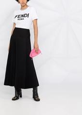 Fendi embroidered logo cotton T-shirt
