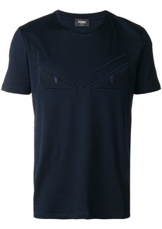Fendi embroidered logo T-shirt