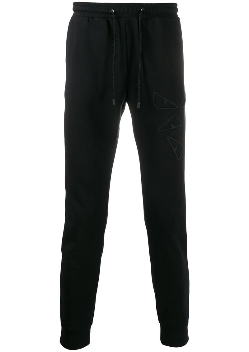 Fendi embroidered track pants