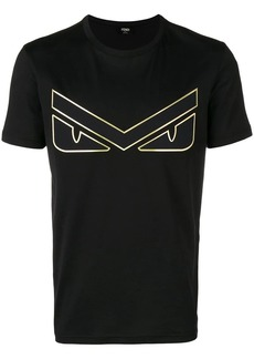 Fendi eyes patch T-shirt