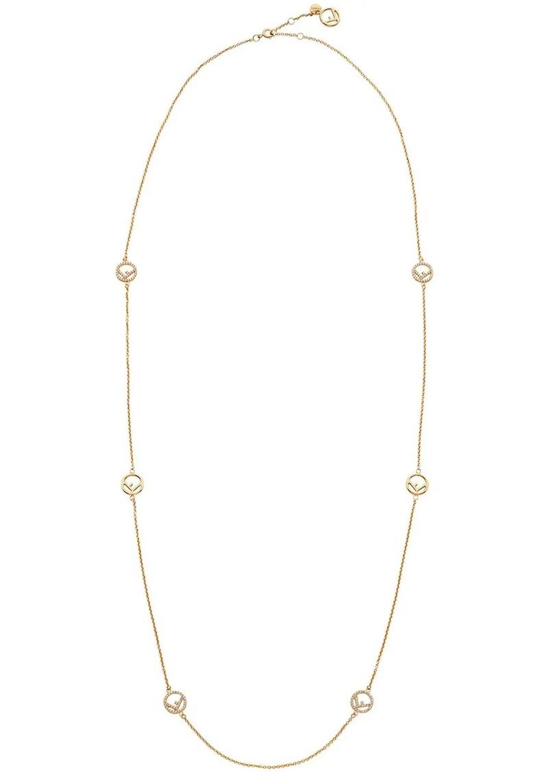 Fendi F logo necklace