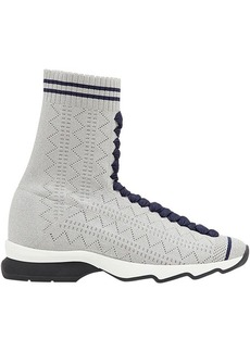 Fendi fabric sock sneakers
