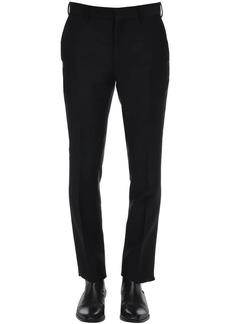 Fendi Faded Ff Virgin Wool & Silk Pants