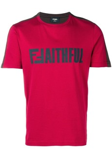 Fendi 'Faithful' T-shirt