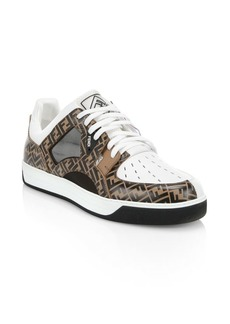Fancy Fendi Logo Sneakers