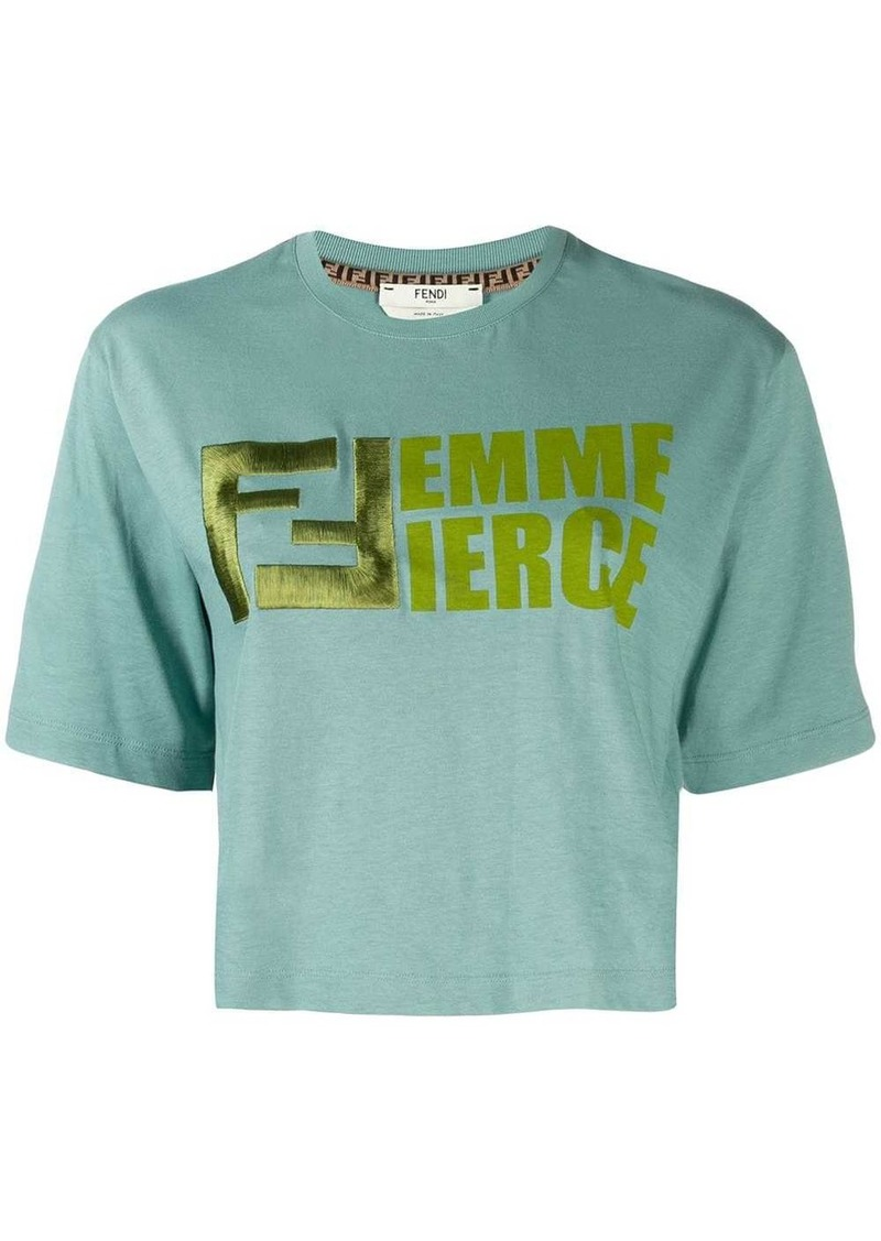 Fendi femme fierce T-shirt