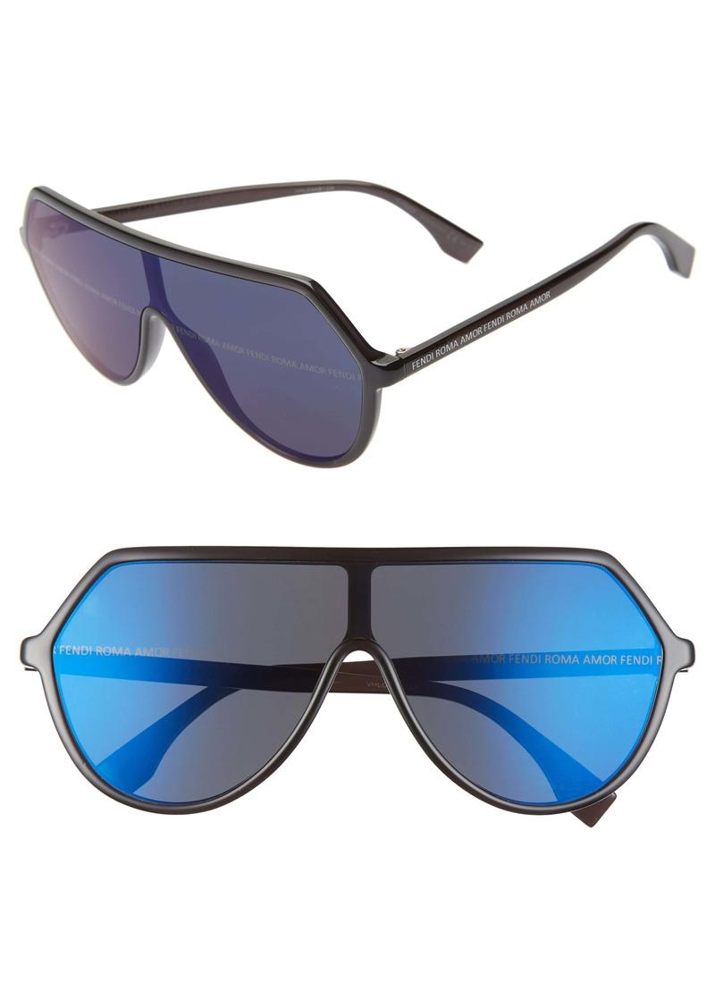 Fendi 135mm Shield Sunglasses
