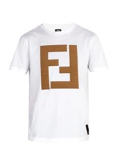 Fendi 3D FF logo T-shirt