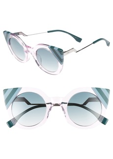 Fendi 47mm Cat Eye Sunglasses