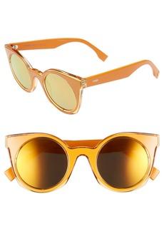 Fendi 48mm Cat Eye Sunglasses