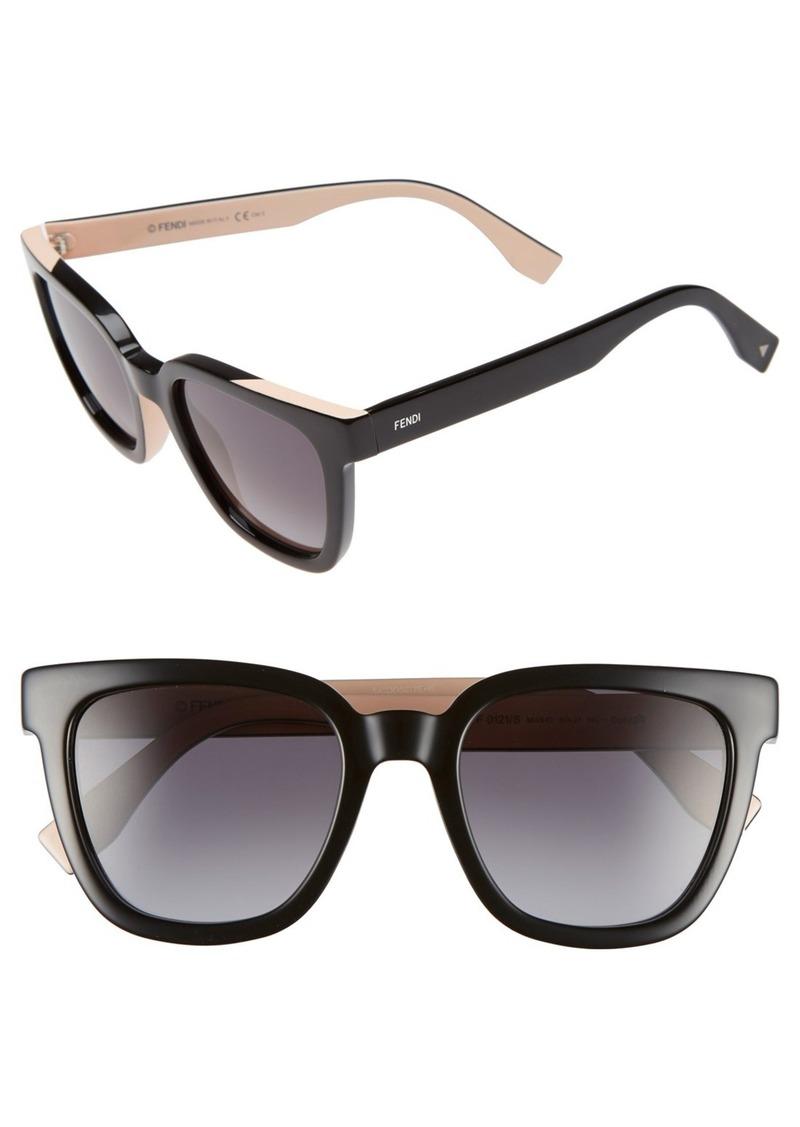 Fendi 51mm Sunglasses