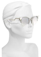 5fc5dbce03bbe Fendi Fendi 52mm Crystal Tip Cat Eye Sunglasses