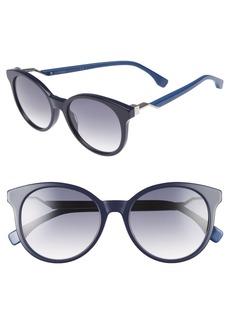 Fendi 52mm Gradient Lens Sunglasses