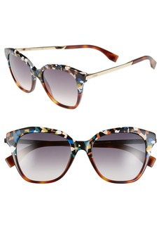 Fendi 52mm Retro Sunglasses