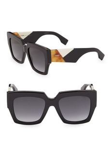 Fendi 52MM Square Sunglasses