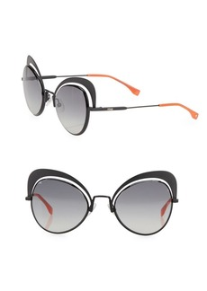 Fendi 54MM Cat Eye Sunglasses
