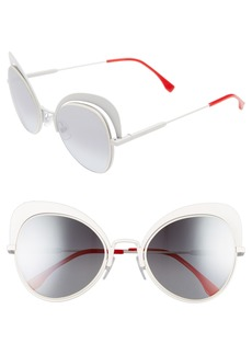 Fendi 54mm Gradient Cat Eye Sunglasses