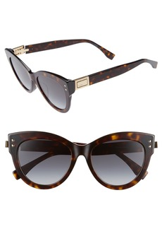 Fendi 54mm Special Fit Cat Eye Sunglasses