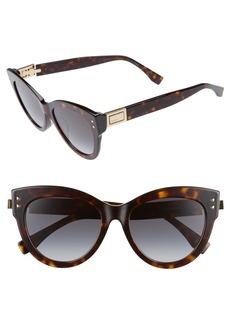 Fendi 54mm Special Fit Cat Eye Sunglasses