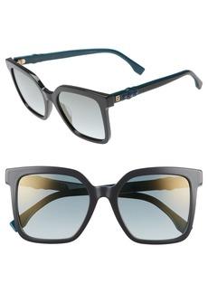 Fendi 54mm Square Sunglasses