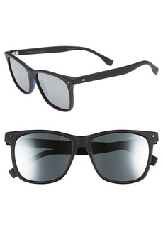 Fendi 55mm Polarized Sunglasses