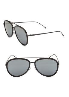 Fendi 57MM Aviator Sunglasses