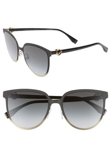 Fendi 57mm Sunglasses