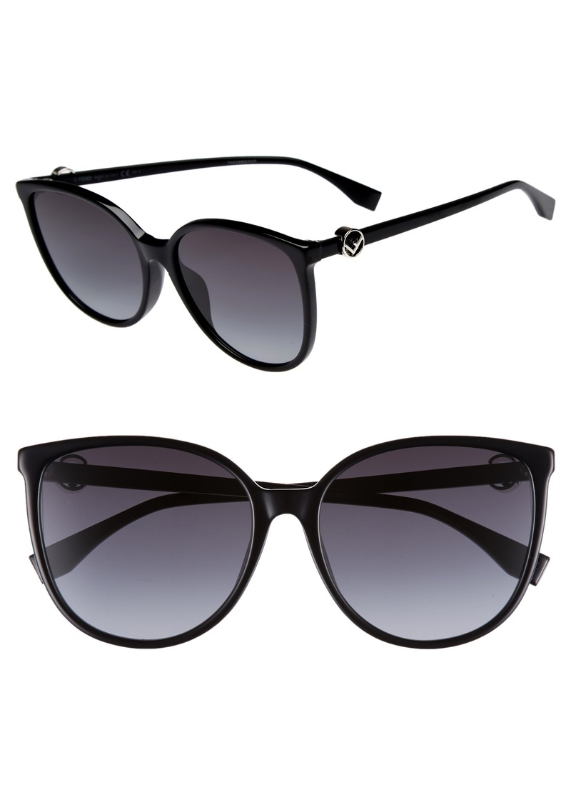 Fendi 58mm Retro Special Fit Sunglasses