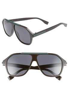 Fendi 59mm Navigator Sunglasses