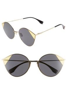Fendi 60mm Cat Eye Sunglasses