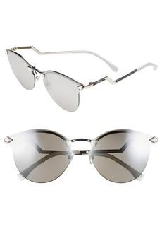 Fendi 60mm Retro Sunglasses