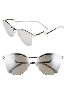 Fendi 60mm Retro Sunglasses