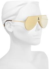 08f76469e3a Fendi 99mm Eyeline Aviator Sunglasses Fendi 99mm Eyeline Aviator Sunglasses