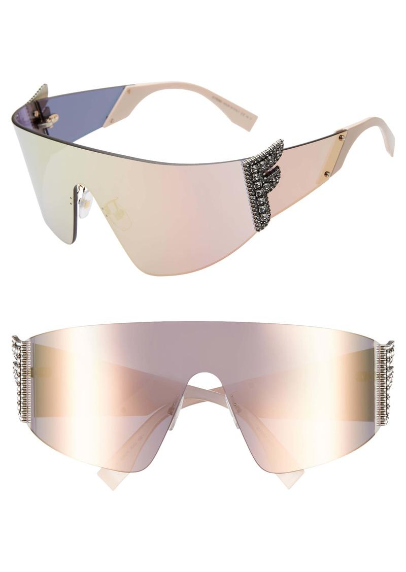 Fendi 99mm Shield Sunglasses