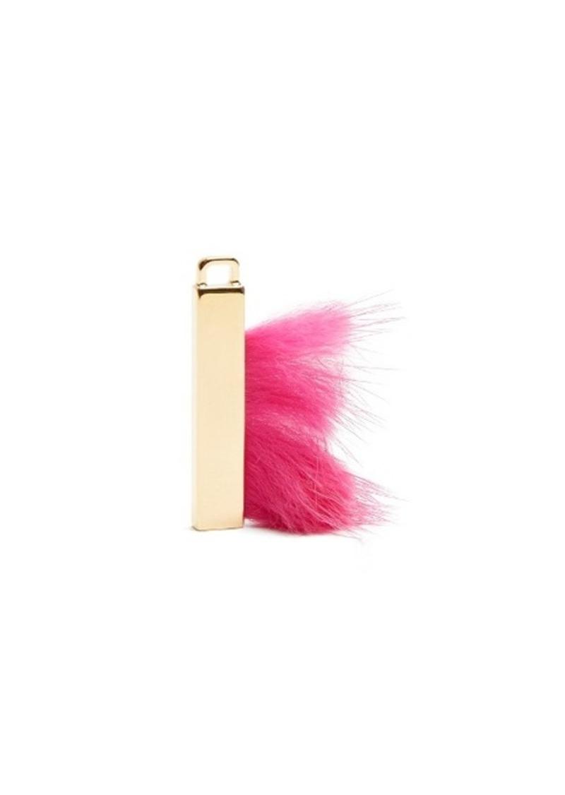 fendi fendi abclick letter i key charm handbags