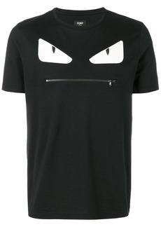 Fendi Bag Bugs-appliqué T-shirt