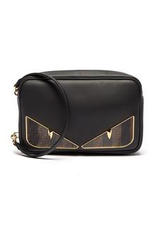 Fendi Bag Bugs logo eyes leather camera bag