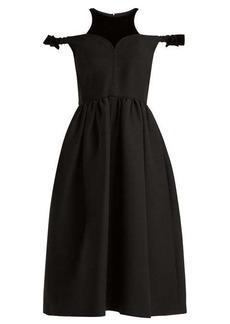 Fendi Bambolina wool-blend dress