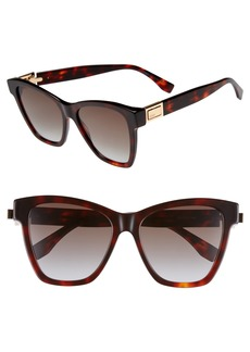 Fendi Basic 55mm Sunglasses