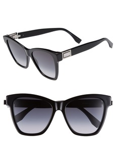 Fendi Basic 55mm Sunglasses