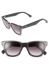 Fendi Be You 50mm Gradient Sunglasses