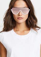e03f90244cf Fendi Bottom Frame Imitation Pearl Sunglasses Fendi Bottom Frame Imitation  Pearl Sunglasses ...
