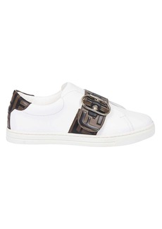 Fendi Buckled Sneakers