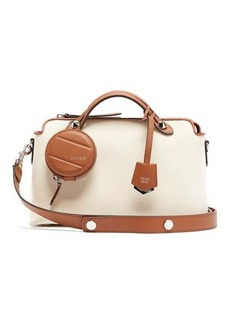 Fendi By The Way canvas shoulder bag