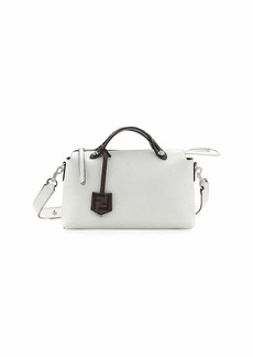 Fendi By The Way FF Leather Satchel Bag