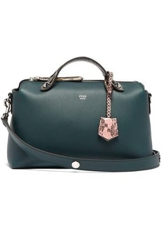 Fendi By The Way leather and ayers cross-body bag
