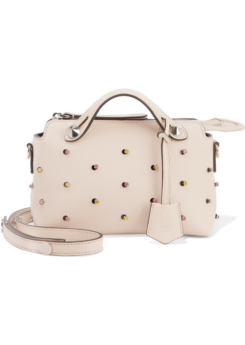 7a7ff0f2e976 On Sale today! Fendi By The Way mini embellished leather shoulder bag